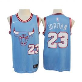 Camiseta Michael Jordan #23 Chicago Bulls 2019/20 Azul City Edition