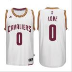 Camiseta Kevin Love #0 Cleveland Cavaliers Blanco
