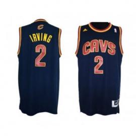 Camiseta Kyrie Irving #2 Cleveland Cavaliers Azul