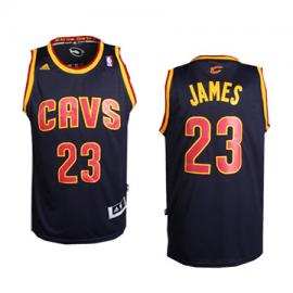 Camiseta LeBron James #23 Cleveland Cavaliers Azul