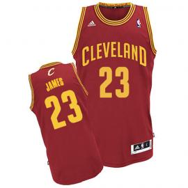 Camiseta LeBron James #23 Cleveland Cavaliers Rojo