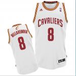 Camiseta Matthew Dellavedova #8 Cleveland Cavaliers Blanco