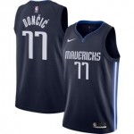 Camiseta Luka Doncic #77 Dallas Mavericks 2019/20 Azul Marino Statement Edition