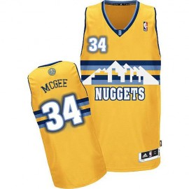Camiseta JaVale McGee #34 Denver Nuggets Amarillo