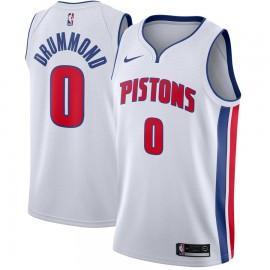 Camiseta Andre Drummond #0 Detroit Pistons Blanco
