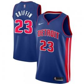 Camiseta Blake Griffin #23 Detroit Pistons Azul