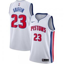 Camiseta Blake Griffin #23 Detroit Pistons Blanco