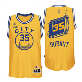 Camiseta Kevin Durant #35 Golden State Warriors Amarillo City Classic Edition