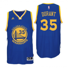 Camiseta Kevin Durant #35 Golden State Warriors Azul