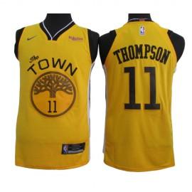 Camiseta Klay Thompson #11 Golden State Warriors 2019 Amarillo Earned Edition