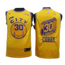 Camiseta Stephen Curry #30 Golden State Warriors 2020 Amarillo City Edition