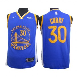 Camiseta Stephen Curry #30 Golden State Warriors 2020 Azul