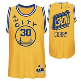 Camiseta Stephen Curry #30 Golden State Warriors Amarillo City Classic Edition