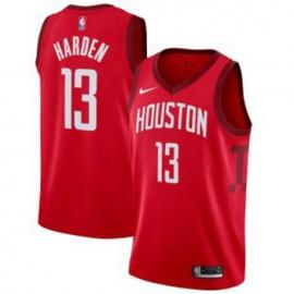 Camiseta James Harden #13 Houston Rockets 2018/19 Rojo Earned Edition