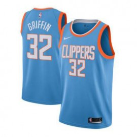 Camiseta Blake Griffin #32 Los Angeles Clippers Azul City Edition