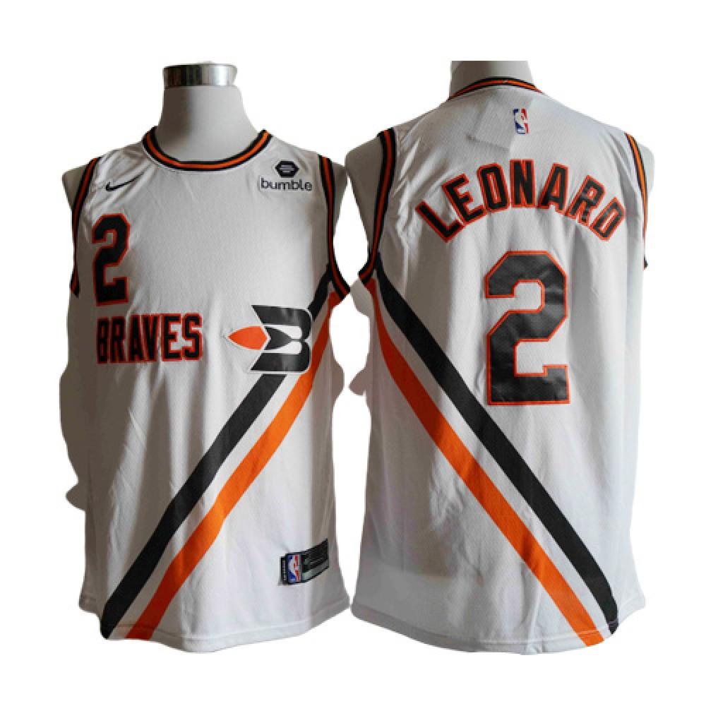Camiseta Kawhi Leonard #2 Los Angeles Clippers 2020 Blanco
