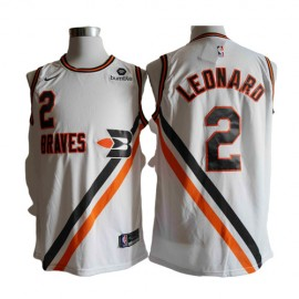 Camiseta Kawhi Leonard #2 Los Angeles Clippers 2020 Blanco