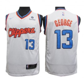Camiseta Paul George #13 Los Angeles Clippers Blanco City Edition