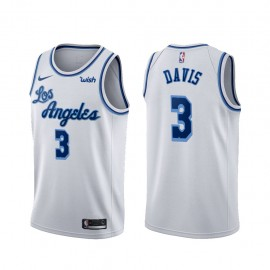 Camiseta Anthony Davis #3 Los Angeles Lakers Blanco Latin Edition