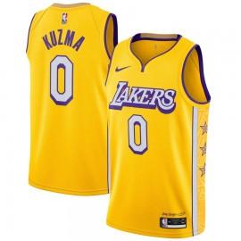 Camiseta Kyle Kuzma #0 Los Angeles Lakers 2019/20 Amarillo City Edition