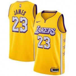 Camiseta LeBron James #23 Los Angeles Lakers 2019/20 Amarillo City Edition