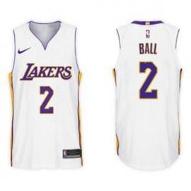 Camiseta Lonzo Ball #2 Los Angeles Lakers 2017/18 Blanco