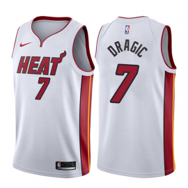 Camiseta Goran Dragić #7 Miami Heat Blanco Association Edition