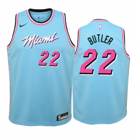 Camiseta Jimmy Butler #22 Miami Heat 2019/20 Azul City Edition