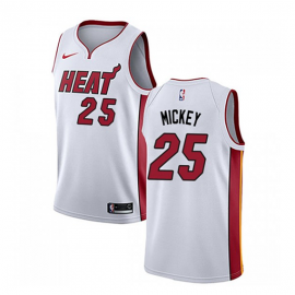 Camiseta Jordan Mickey #25 Miami Heat Blanco Association Edition