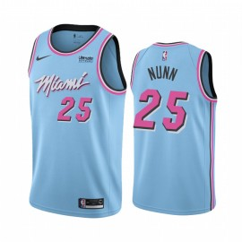 Camiseta Kendrick Nunn #25 Miami Heat 2019/20 Azul City Edition