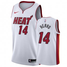 Camiseta Tyler Herro #14 Miami Heat Blanco Association Edition