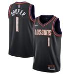 Camiseta Devin Booker #1 Phoenix Suns 2019/20 Negro City Edition