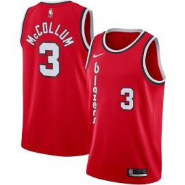 Camiseta CJ McCollum #3 Portland Trail Blazers 2019/20 Rojo Classic Edition
