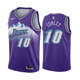 Camiseta Mike Conley Jr. #10 Utah Jazz 19/20 Purpura Icon Edition