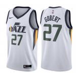 Camiseta Rudy Gobert #27 Utah Jazz Blanco Association Edition