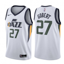 Camiseta Rudy Gobert #27 Utah Jazz Blanco Association Edition