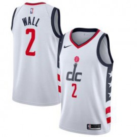 Camiseta John Wall #2 Washington Wizards 2019/20 Blanco City Edition