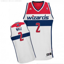 Camiseta John Wall #2 Washington Wizards Blanco