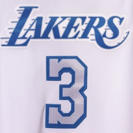 Camiseta Anthony Davis #3 Los Angeles Lakers 2021 Blanco City Edition