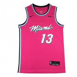 Camiseta Bam Adebayo #13 Miami Heat Rose Earned Edition
