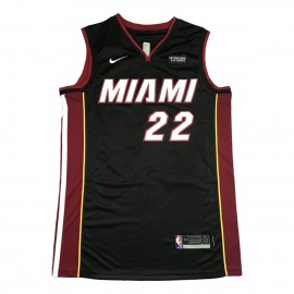 Camiseta Jimmy Butler #22 Miami Heat Negro
