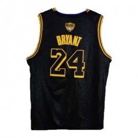 Camiseta Kobe Bryant #24 Los Angeles Lakers 2020 Negro Champion Edition