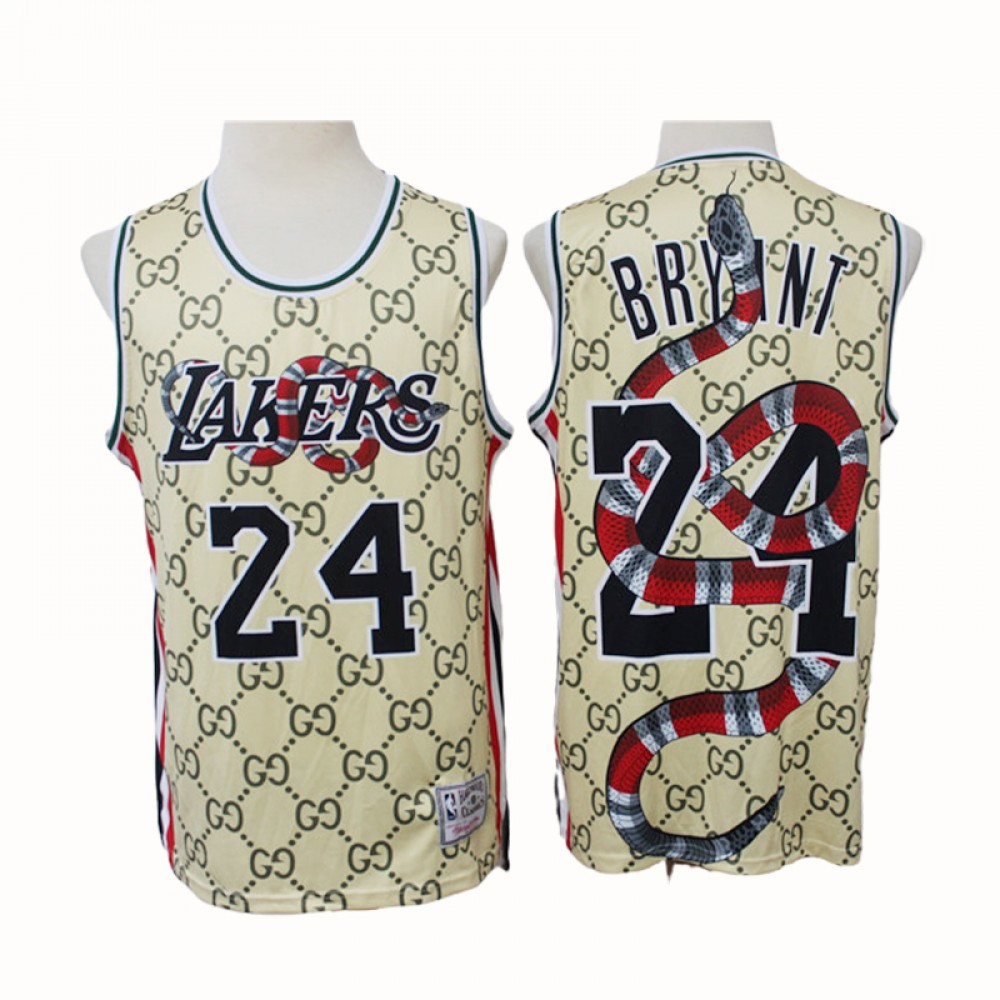 Camiseta Kobe Bryant #24 Los Angeles Lakers 2021 Gucci Limited Edition