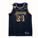 Camiseta Kobe Bryant #24 Los Angeles Lakers 2021 Negro City Edition