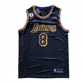 Camiseta Kobe Bryant #8/#24 Los Angeles Lakers 2021 Negro City Edition