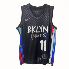 Camiseta Kyrie Irving #11 Brooklyn Nets 2021 Negro City Edition