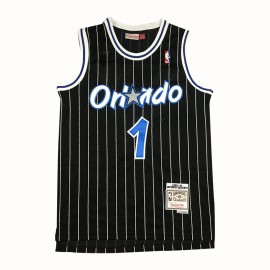Camiseta Penny Hardaway #1 Orlando Magic Negro Retro
