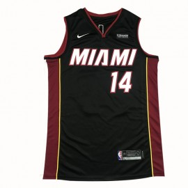 Camiseta Tyler Herro #14 Miami Heat Negro
