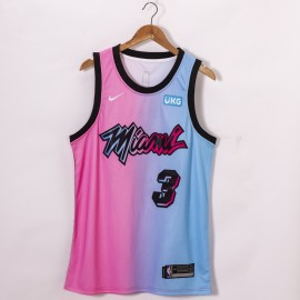 Camiseta Dwyane Wade #3 Miami Heat 2021 City Edition