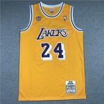 Camiseta Kobe Bryant #24 Los Angeles Lakers Amarillo 60th Anniversary